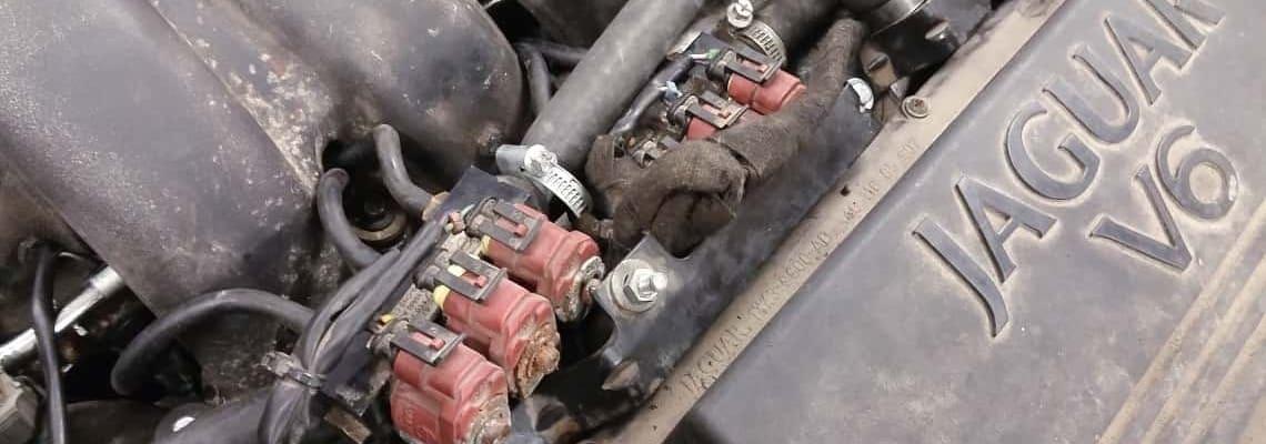 Listwa wtryskowa lpg Valtek w silniku V6