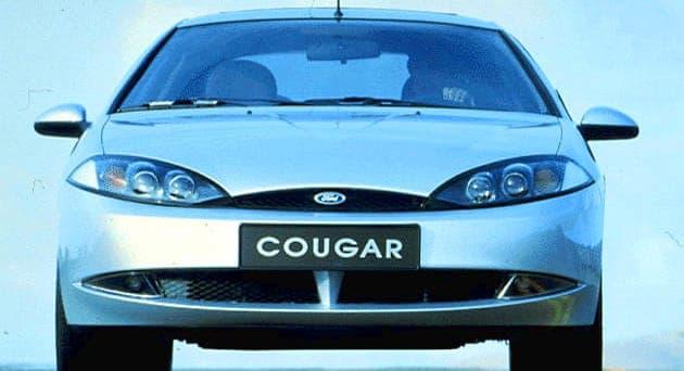 Ford Cougar ujęcie od przodu