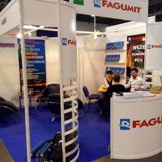 Fagumit stoisko firmowe