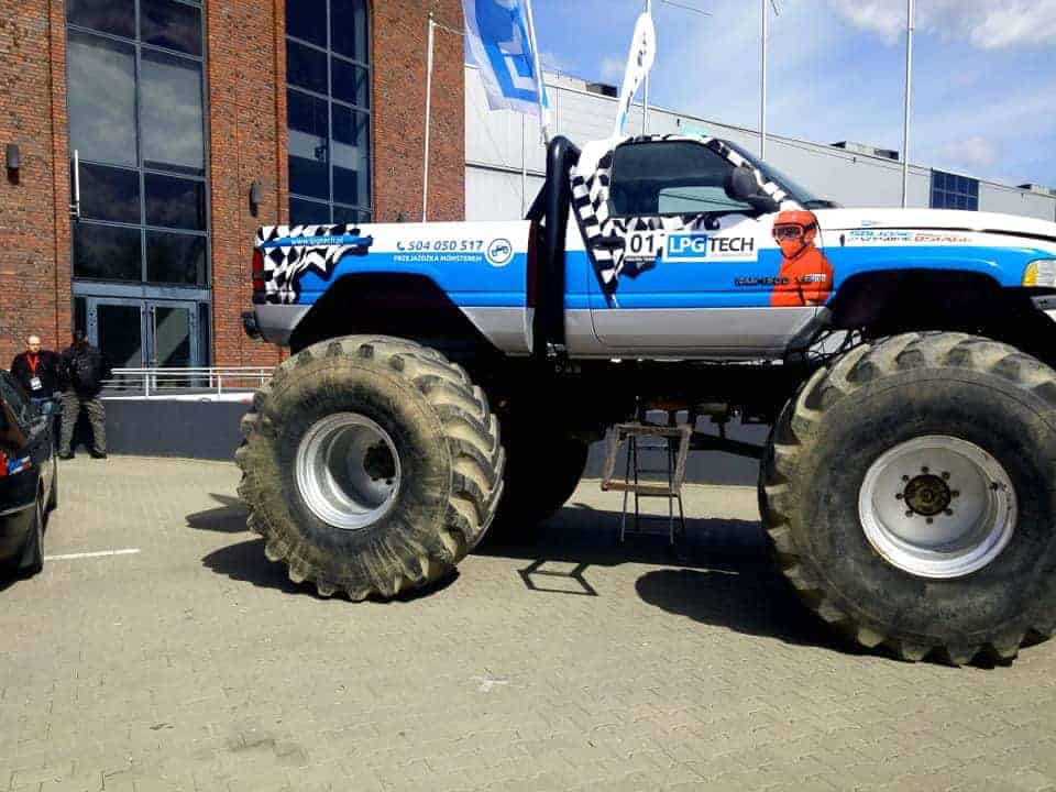 Monstertruck gasshow 2017