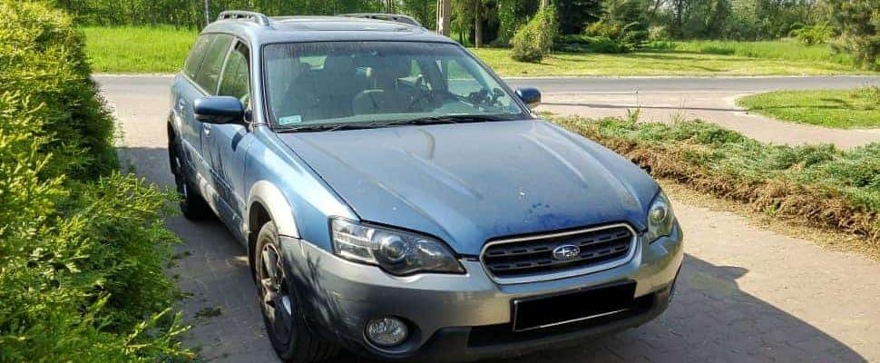 Subaru Outback silnik H6 po montażu instalacji lpg
