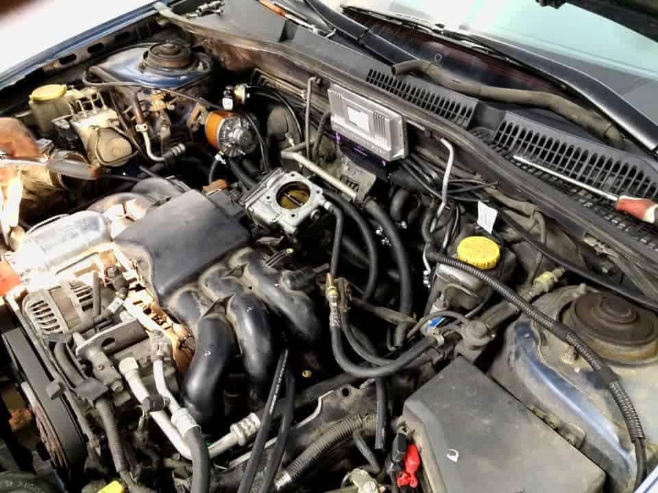 Subaru kolejny etap montaż instalacji lpg