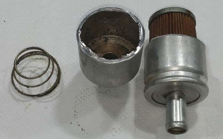 filtr lpg fazy lotnej papieorowy przekrój