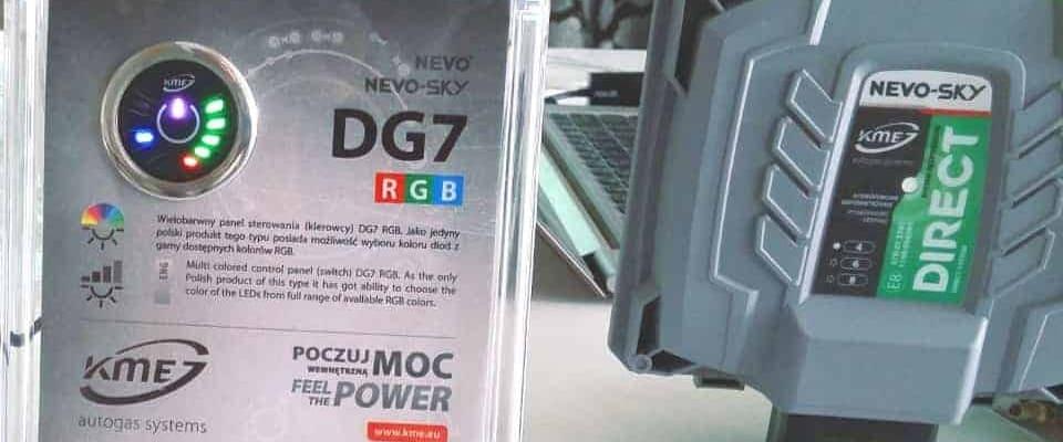 Przełącznik gaz benzyna KME DG7 RGB