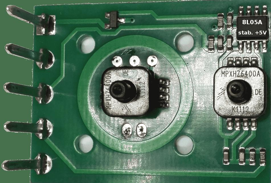 Mapsensor PTS01 budowa