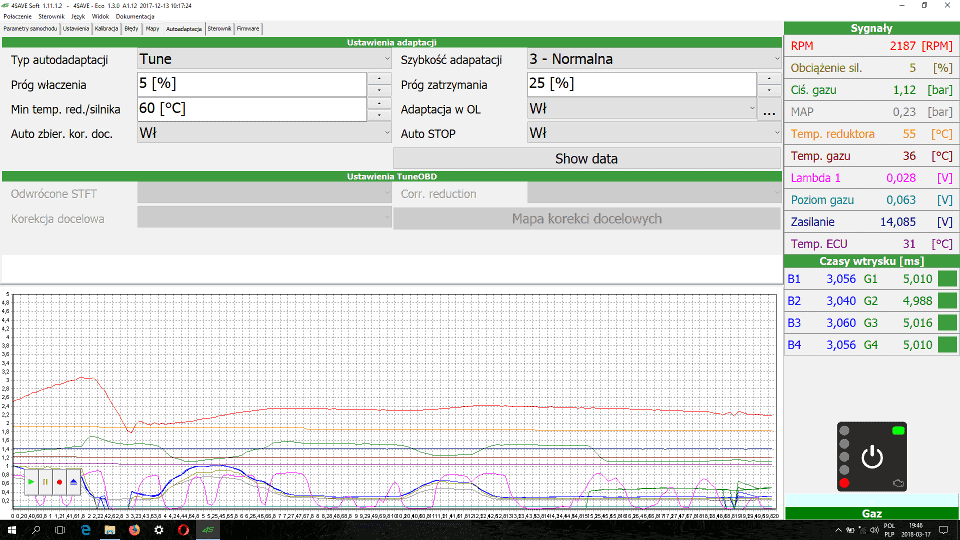 4Save Soft zakładka autoadaptacja