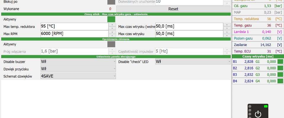 4Save Soft ustawienia zaawansowane