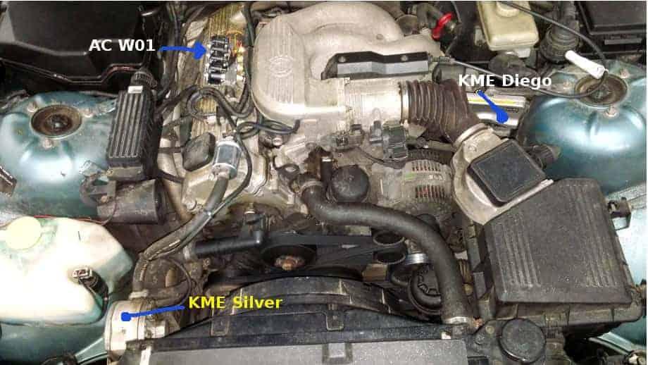 wtryskiwacze AC W01 do BMW