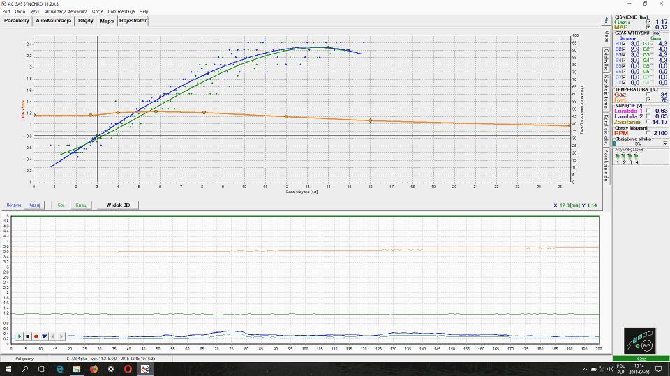 Stag program AC Gas Synchro 11