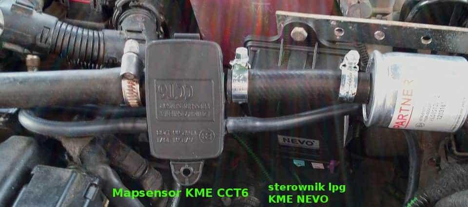 Instalacja gazowa KME NEVO