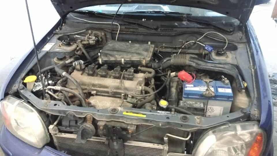 Nissan Micra założona instalacja lpg