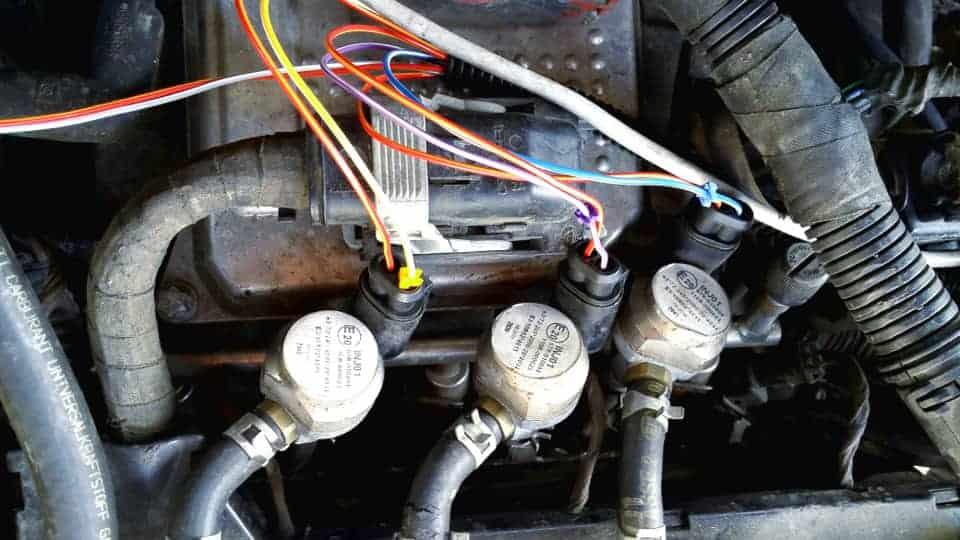 e-gas Wtryskiwacz lpg INJ01