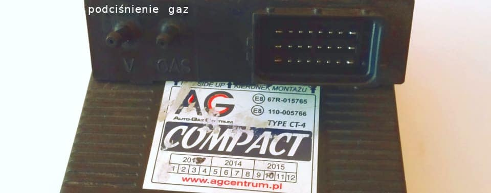 sterownik lpg compact podłączenie ciśnienia