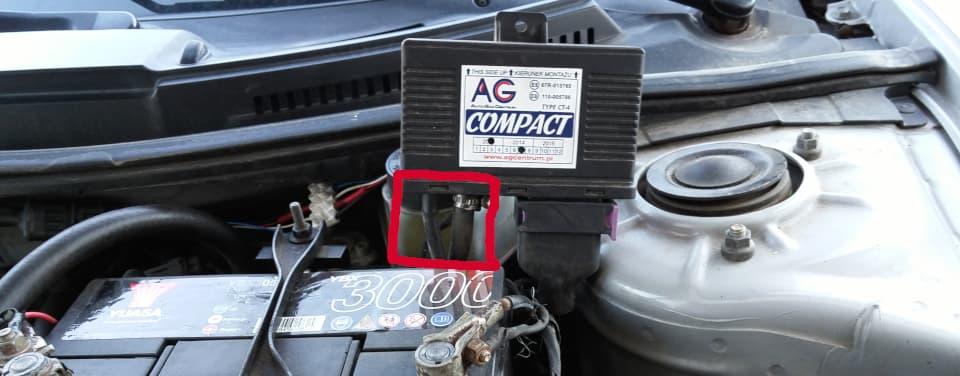Sterownik Compact czujnik ciśnienia