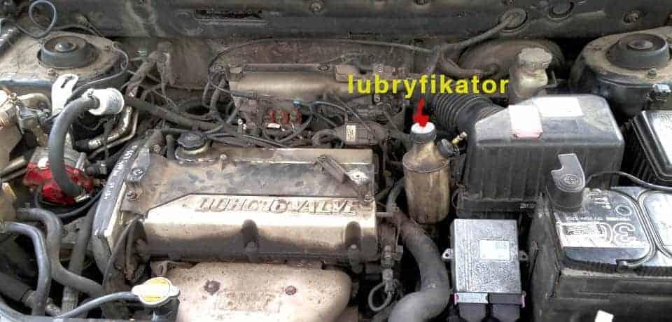 Bigas SGIS instalacja lpg w samochodzie Hyundai Santa Fe