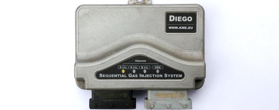 sterownik KME Diego 4 cylindry