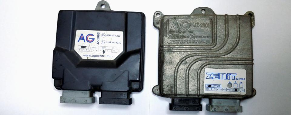Sterownik AGC Zenit Jz2005 dwie wersje obudowy