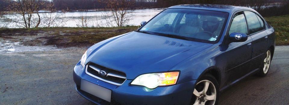 Subaru Legacy z instalacją gazową lpg