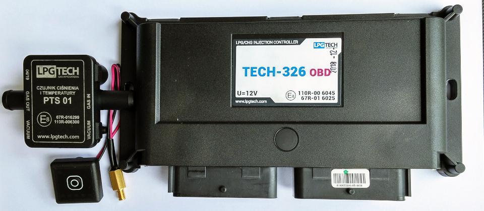 sterownik LPG Tech 326 OBD