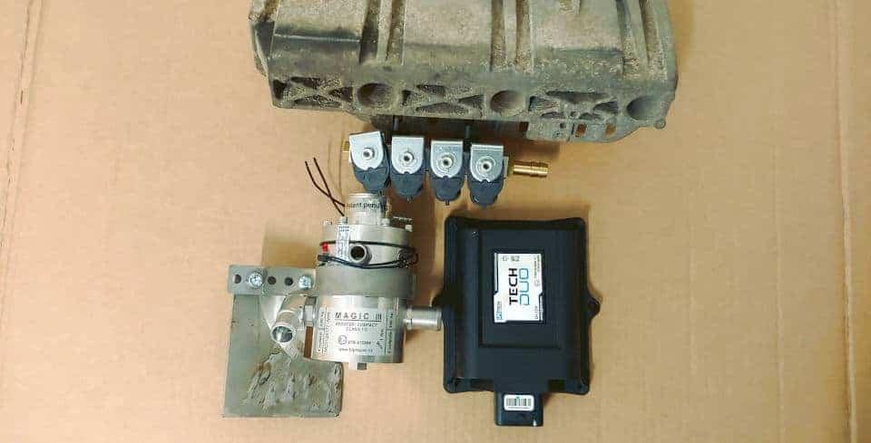 dobre podezespoły LPG do montażu instalacji gazowej