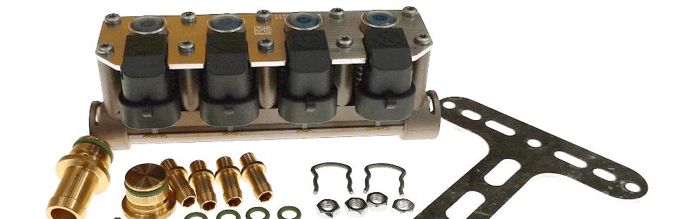 Wtryskiwacze AC W02 do instalacji LPG w samochodzie