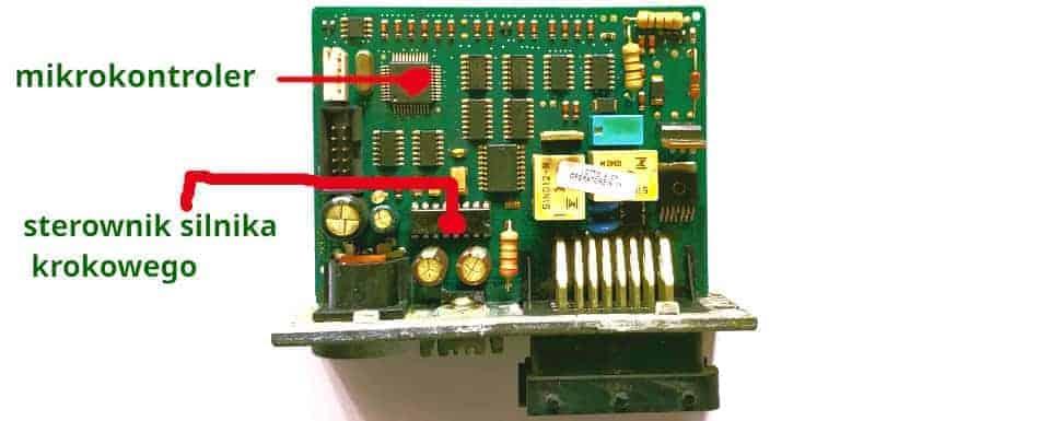 Sterownik BRC Just płytka PCB