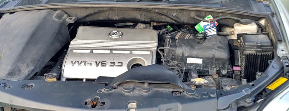 Lexus RX330 reduktor KME Gold GT instalacja LPG