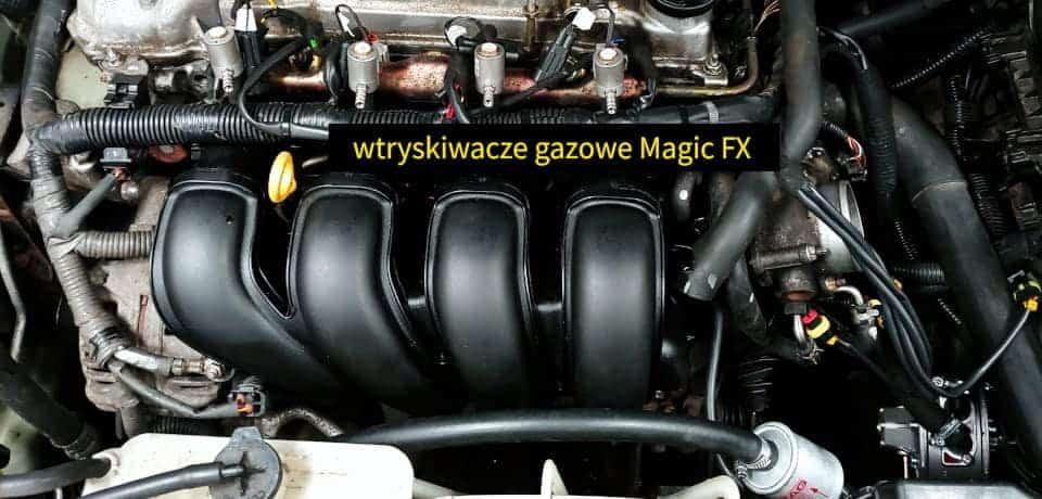 Wtryskiwacze gazowe Magic FX montaż LPG
