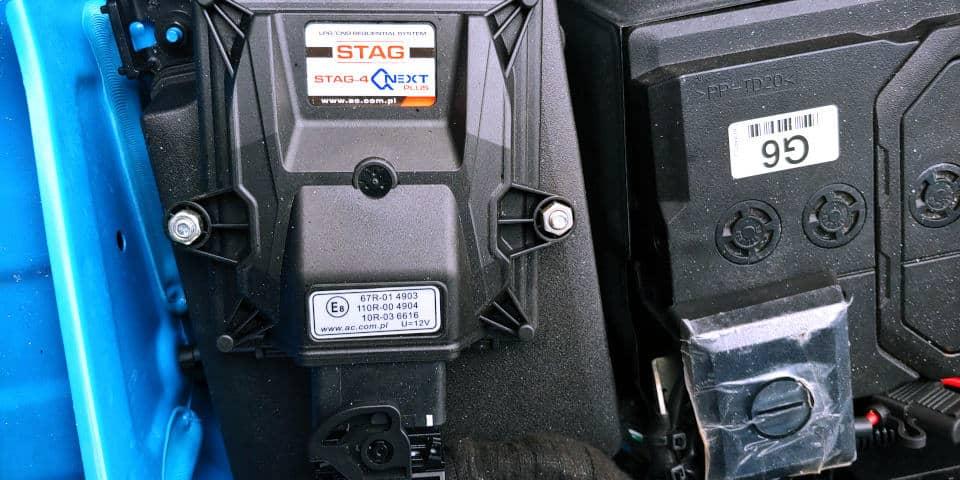 Sterownik LPG Stag 4 QNext Plus