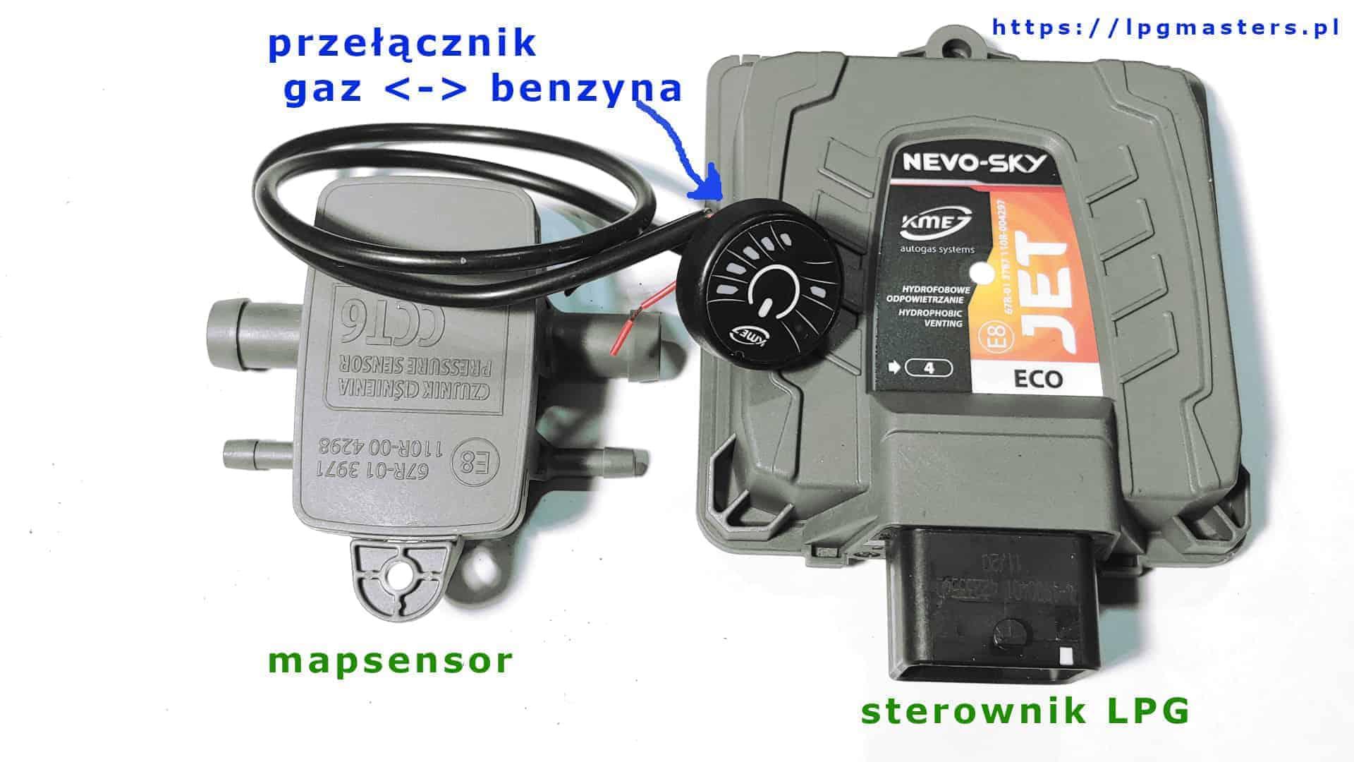 KME Nevo-SKY Jest Eco zestaw elektronika sterująca