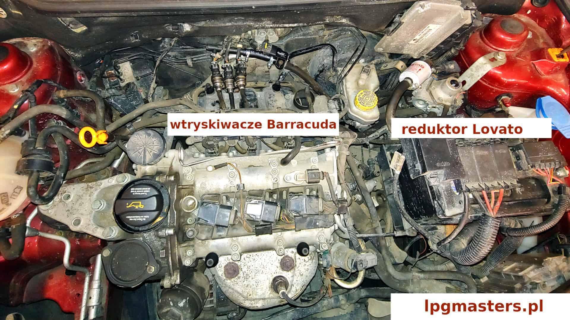 wtryskiwacze Barracuda w instalacji Lovato Smart