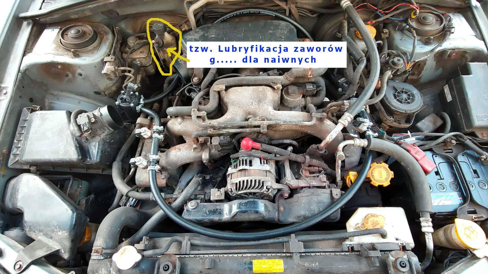 Instalacja LPG wtryskiwacze AC W031
