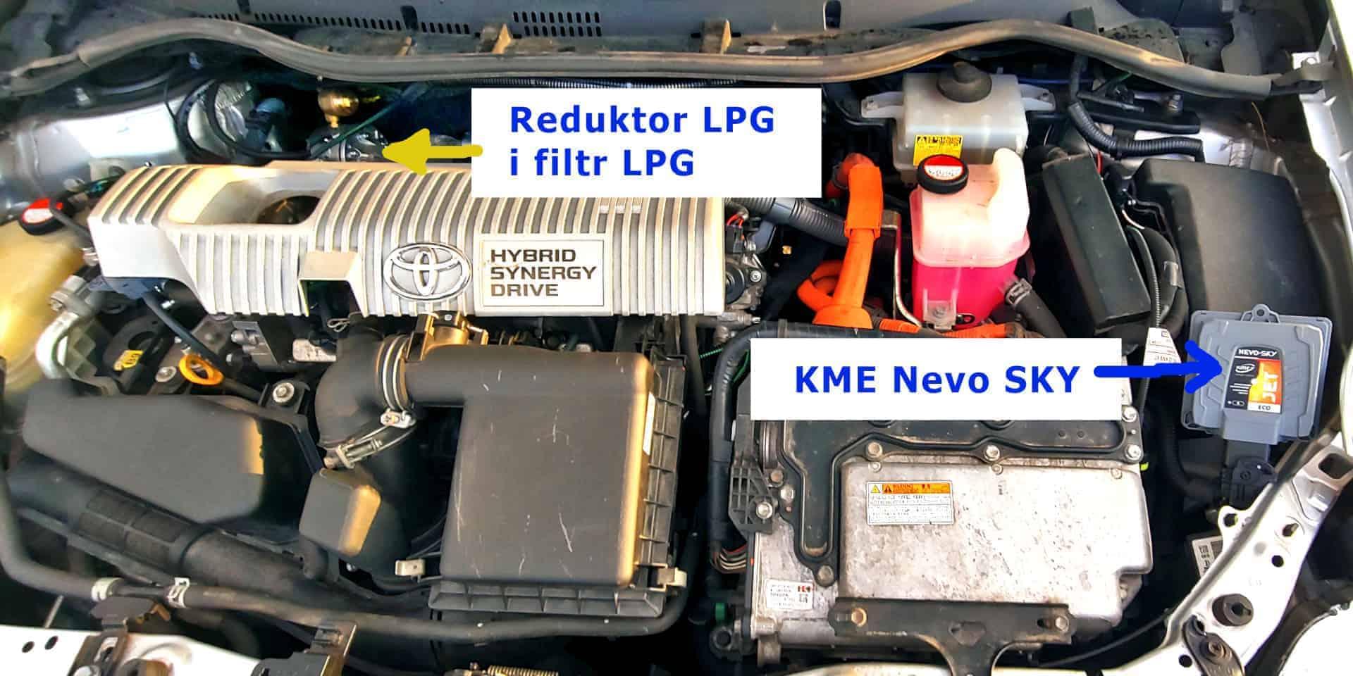 KME Nevo SKY Jet ECO sterownik LPG