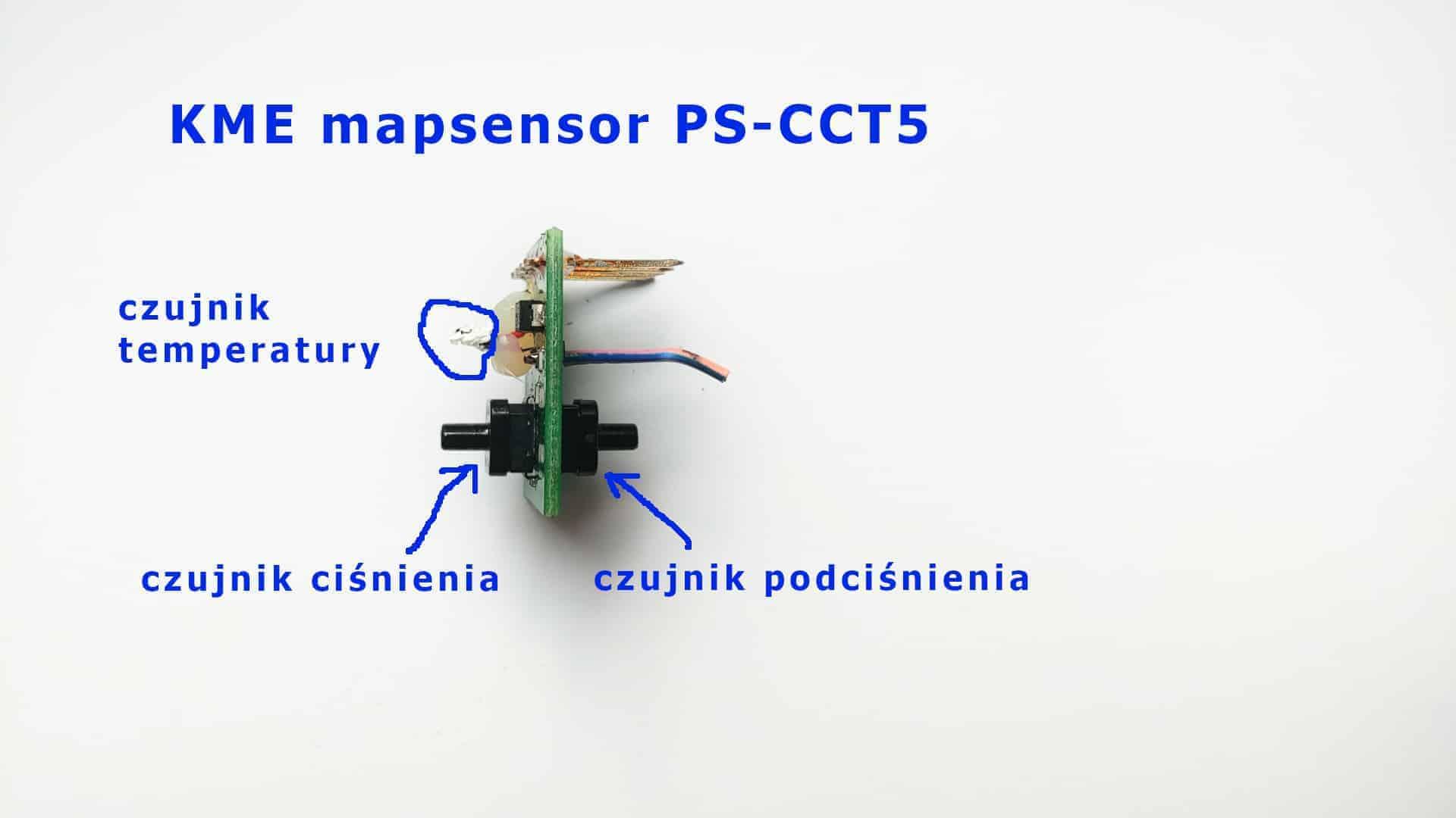 KME mapsensor PS-CCT5 instalacja Diego