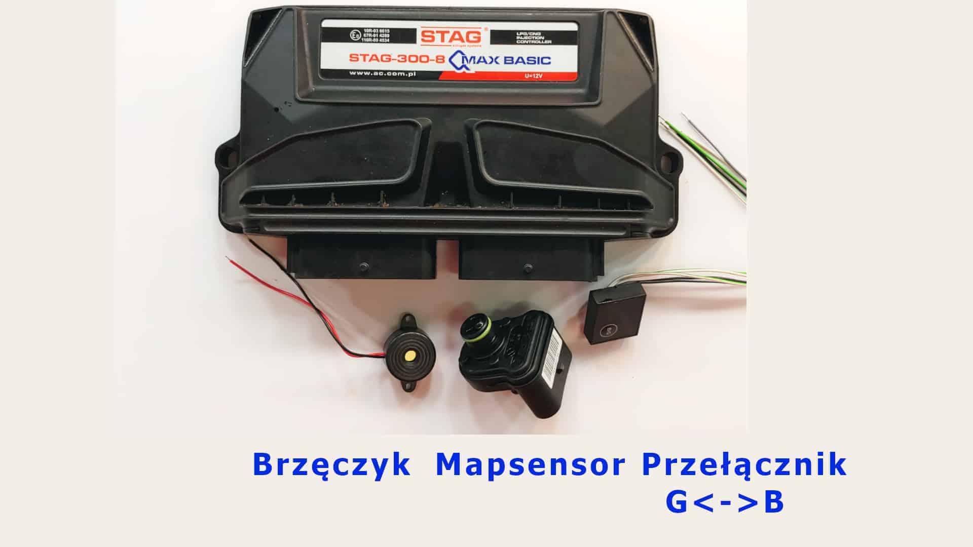 Sterownik Stag Qmax Basic zestaw